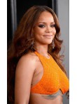 Rihanna Inspired Long Wavy Full Lace Human Hair Wig - cew1029