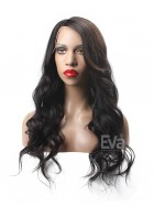 Fashion Wavy Full Lace Virgin Human Hair Wig