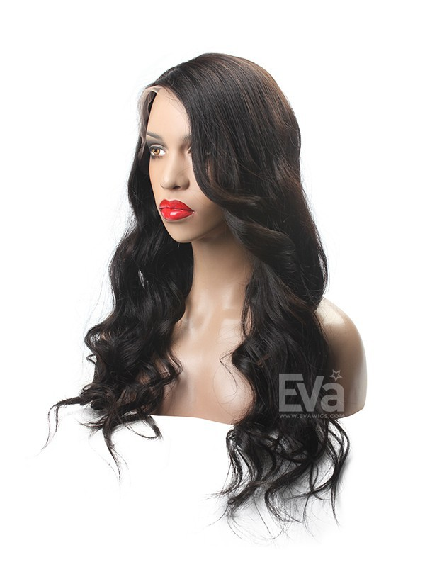 Full Lace Virgin Human Hair Wigs 8