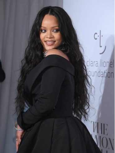 Rihanna Inspired Long Wavy In Stock Full Lace Virgin Human Hair Wig