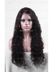 Gorgeous Long Wavy Custom Full Lace Human Hair Wig With Baby Hair