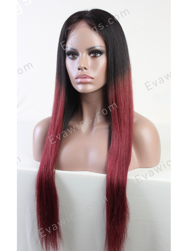 Black To Red Ombre Hair Ashanti