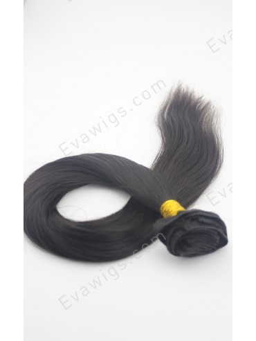 #2 Darkest Brown Indian Remy Hair Clip In Hair Extensions