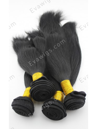 4 Bundle High Quality Indian Remy Human Hair Wefts Straight Style