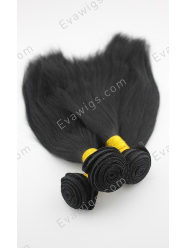 3 Bundles High Quality Indian Remy Human Hair Straight Wefts