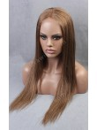 Mixed Color Brown Human Hair Full Lace Wig