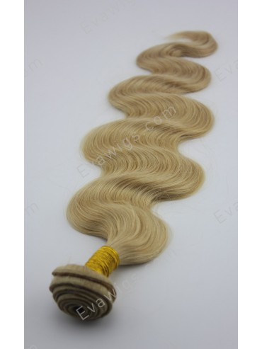 #27 Honey Blonde Body Wave 100% Indian Remy Human Hair Weft
