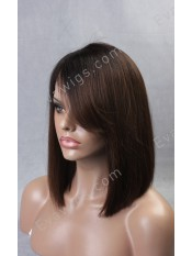 2015 New Bob Style Inverted Cut Lob with Side Bangs