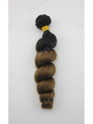 Remy Human Hair Ombre Wavy Weave Extension