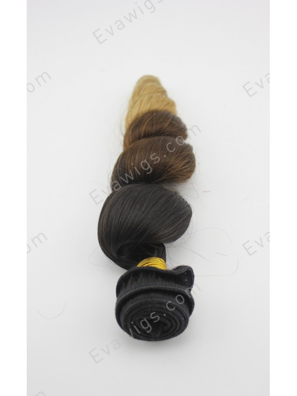 Human Hair Extensions 3 Colors 116