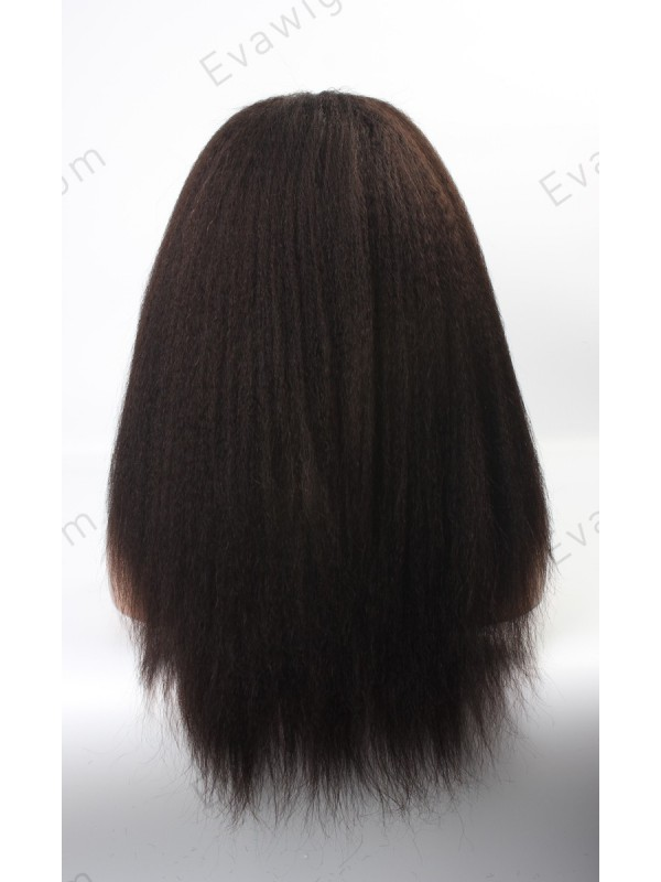 Stock Lace Front Italian Yaki Long Straight Lace Front