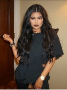 [Stock Lace Front] Kylie Jenner Inspired Long Wavy Lace Front Human Hair Wig