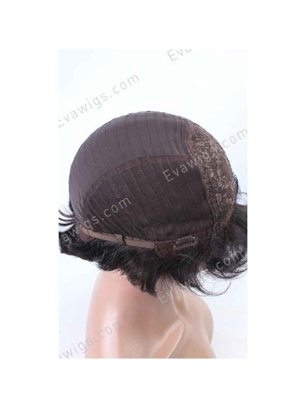 Women'S Large Size Human Hair Wigs 80