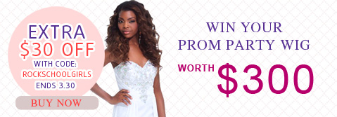 win your prom party wig worth $300