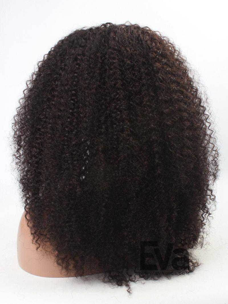 3c hair 12quot22quot natural afro curly human hair full lace