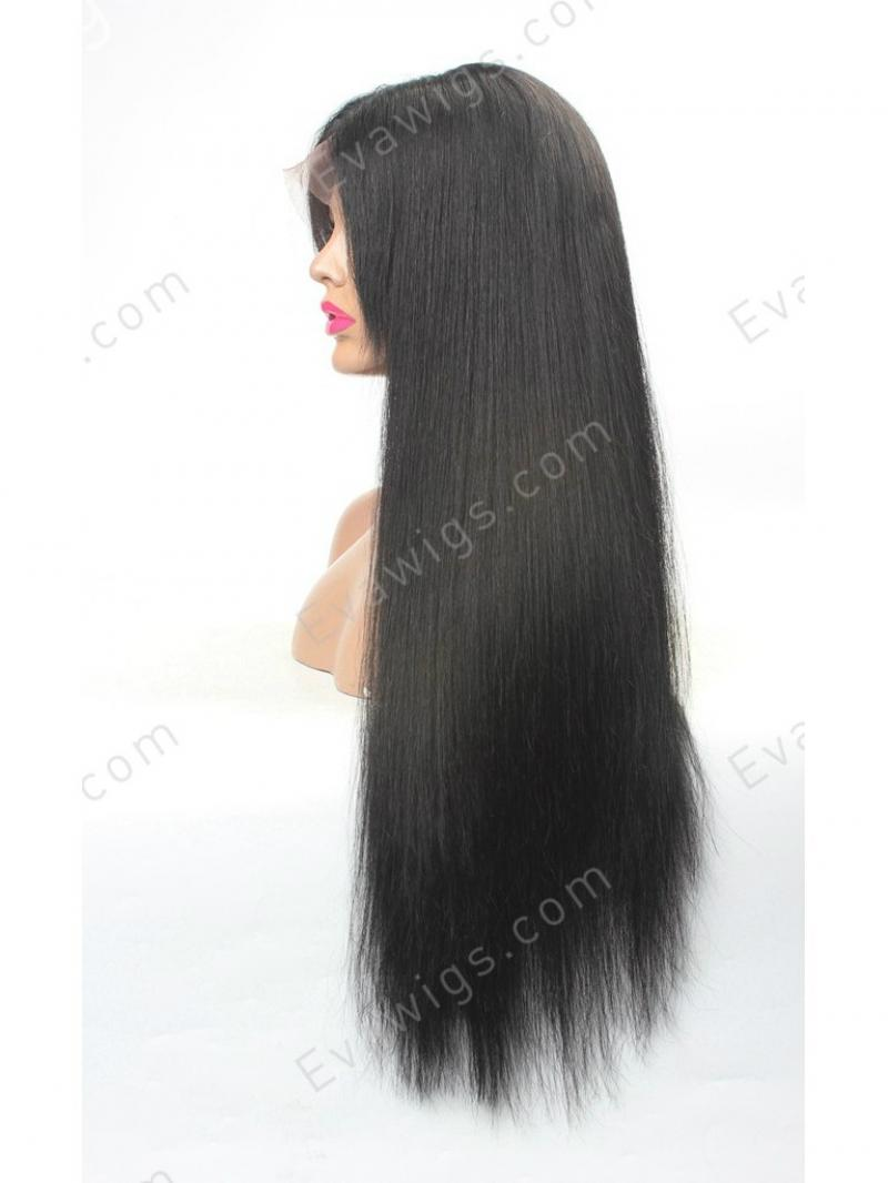 Stocked Pre Plucked Hairline Long Straight Full Lace Human