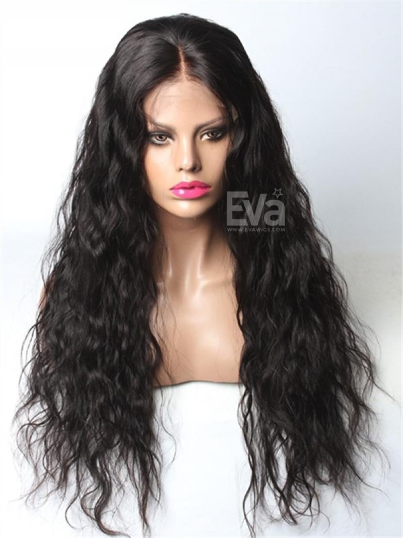 Pre Plucked Hairline Rihanna Inspired Long Wavy In Stock