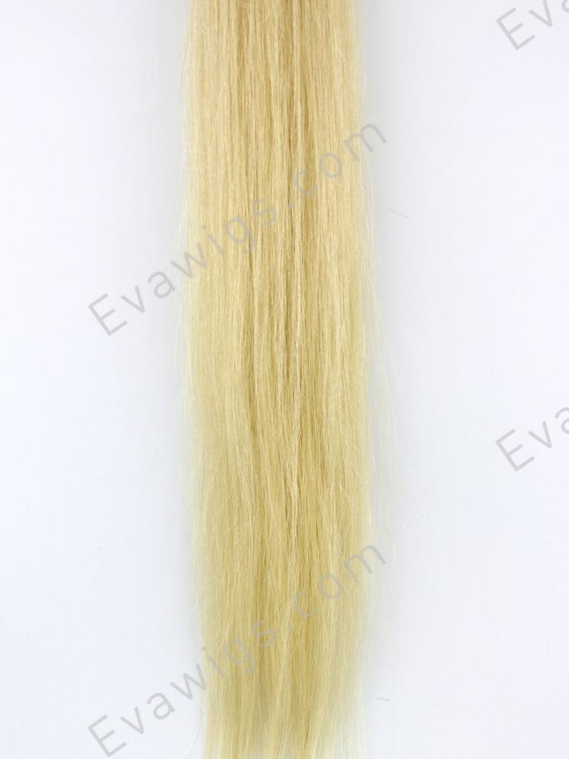 Blonde 613 Clip In 100 Virgin Human Hair Extension Multi Time