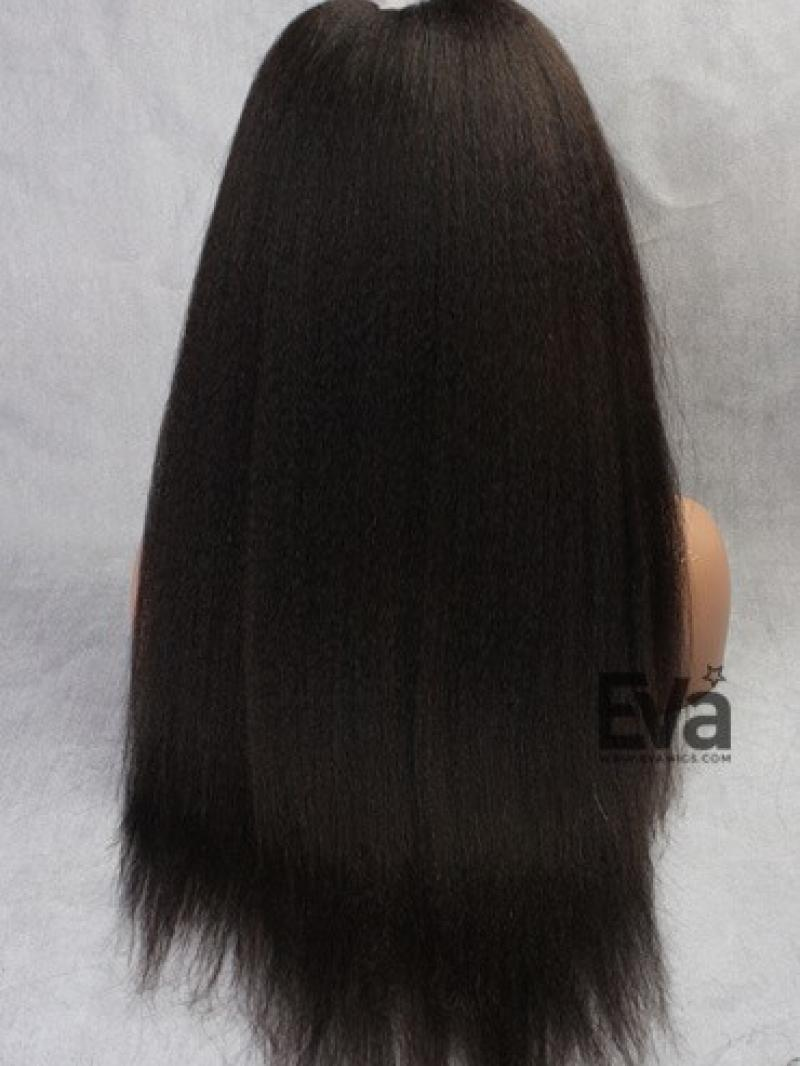 Evawigs Best Seller Kinky Straight Full Lace Human Hair U
