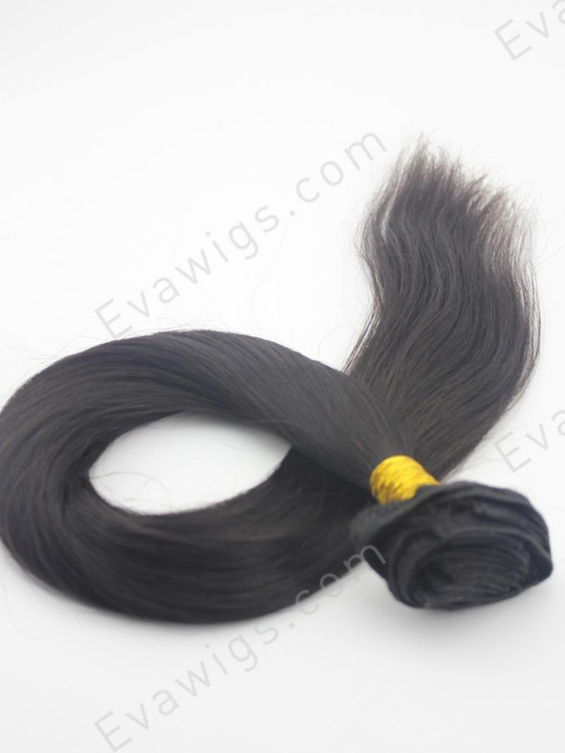 Silky Straight Human Hair Clip In Hair Extension Hair Extensions