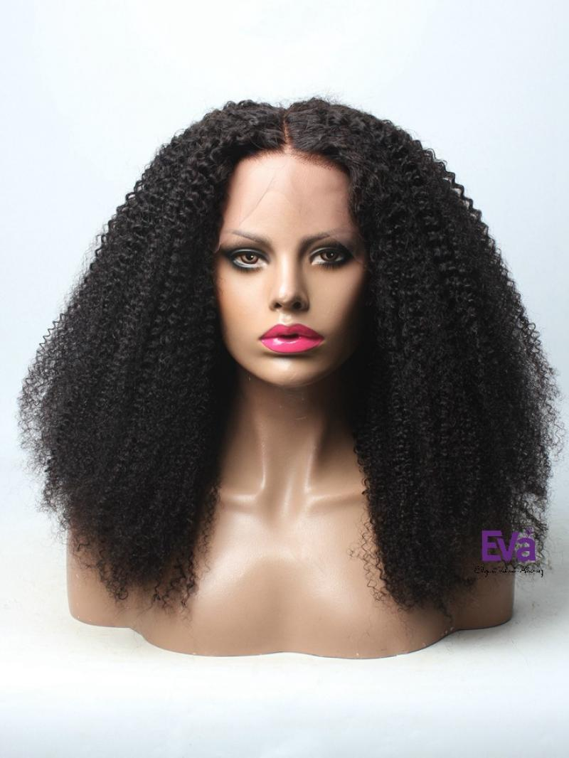 Ready to Ship Afro Kinky Curl Full Lace Wig Type 4 Hair Wig Stocked NS16-K