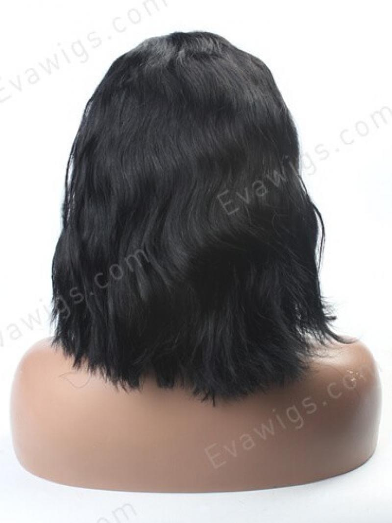 Wavy Short Hair With Full Blunt Hair Ends Hairstyle Human