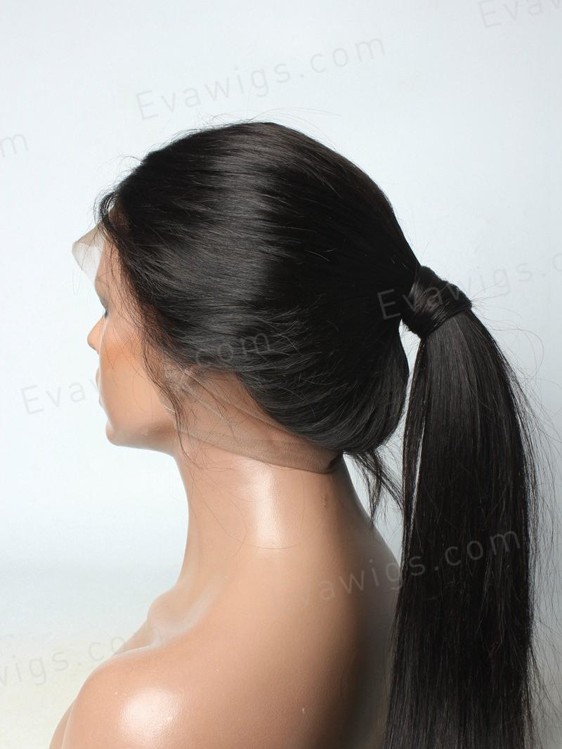 Silky Straight High Quality Human Hair 360 Lace Wig